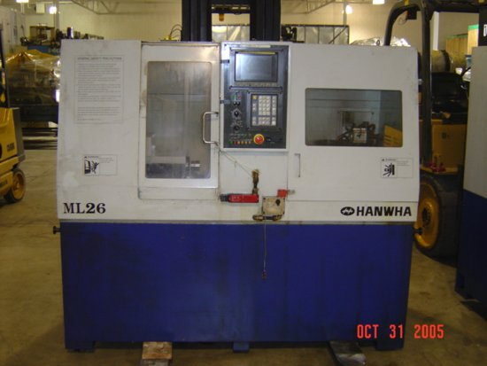 HANWHA, No. ML-26, FANUC 0T, 1999,
